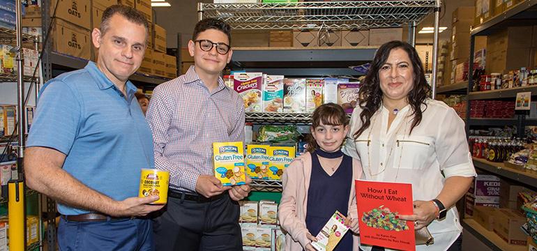 Kosher gluten-free food bank