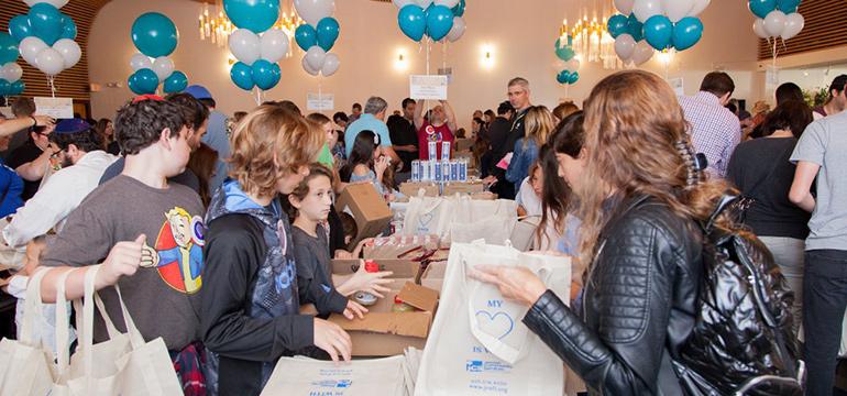 JCS Matzah Mitzvah, The Volunteers