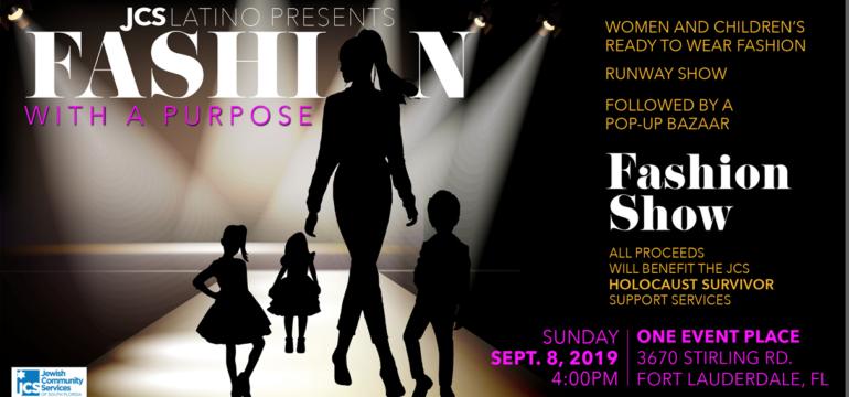 JCS Latino Fashion Show with a Purpose, Sunday Sept. 8 2019, 4 p.m.