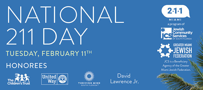 National 211 Day, Tuesday, February 11.
