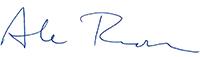 Abe Rudman Signature