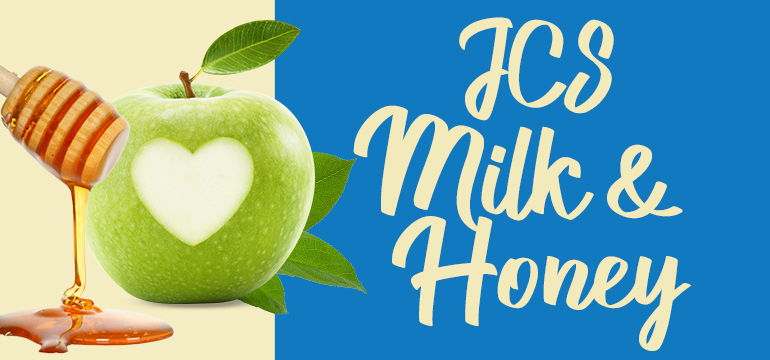 JCS Milk & Honey copy with apple and honey images