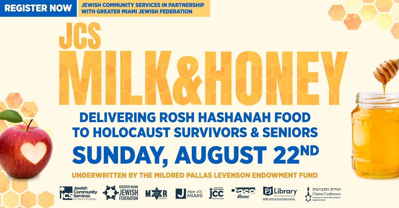 Register: JCS Milk and Honey 2021